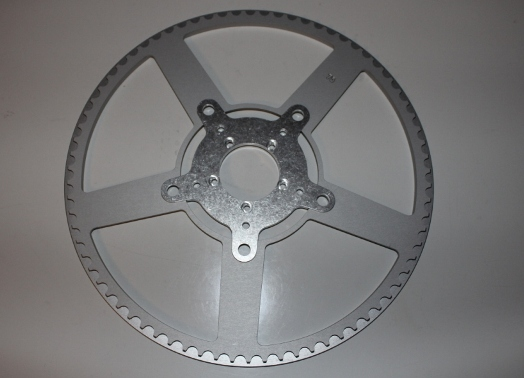 a 130-BCD spider, and chainrings with tooth-counts of 70T, 75T, and 80T are now available.